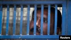 Tù nhân trong một nhà tù tại Pakistan.