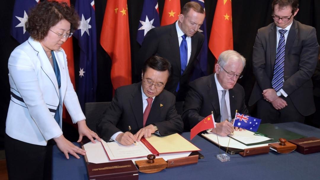 Mixed Reaction To Australia China Free Trade Agreement
