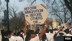 El informe propone el respetó a la vida privada y familiar de los residentes que llevan mucho tiempo en Estado Unidos.