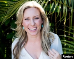 FILE - Justine Damond, also known as Justine Ruszczyk, from Sydney, is seen in this 2015 photo released by Stephen Govel Photography in New York, July 17, 2017.