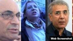 Leyla Yunus, Arif Yunus ,İntiqam Əliyev