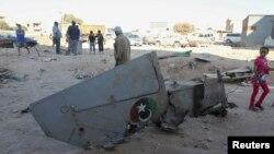 29일 리비아 벵가지에서 이슬람 과격단체의 공격으로 정부군 전투기가 추락했다.