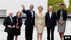Президент Барак Обама прибув з візитом до Ірландії