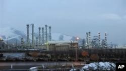伊朗德黑兰西南190公里处的阿拉克核能设施。