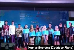 Sociopreneur Muda Indonesia (Soprema) 2019 mempertemukan anak-anak muda penggerak sociopreneur dari seluruh Indonesia. (Foto: Humas Soprema)