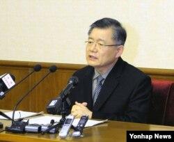 북한에 억류 중인 캐나다 국적 한인 임현수 목사.