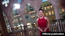 ျမန္မာ မယ္စၾကာ၀ဠာအလွမယ္ ေမဘရဏီေသာ္ Las Vegas ၿမိဳ႕ကိုေရာက္ရွိ (Miss Universe)