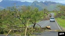 Thiệt hại do cơn bão Winston gây ra tại đảo quốc Fiji.