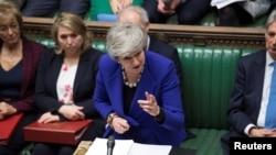 英国首相梅伊在议会讲话(2019年1月30日)