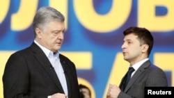 Poroshenko dhe Zelenskiy