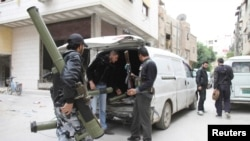Borci slobodne sirijske armije