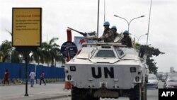 Патруль військ ООН в Абіджані
