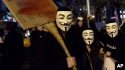 Según el FBI, los máximos líderes del movimiento Anonymous han sido capturados por lo que el grupo ha sido prácticamente desarticulado.