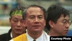 前民进党主席林义雄(Wikipedia)