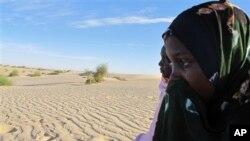 Ani Boka Arby, épouse de Mohamed Lamine, un arabe dont le corps a été exhumé à Tombouctou en février 2013