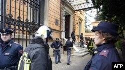 У посольства Чили в Риме