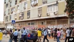 """Manifestantes de Luanda acusados de """"ofensas corporais"""""""