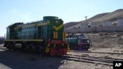 خط آهن حیرتان - مزار شریف