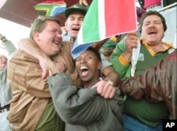 The Springbok win resulted in unprecedented, and multiracial, scenes of joy across South Africa …