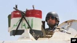 بغداد کی چوکی، وفاقی پولیس کا پہرہ