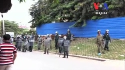 Vendor Killed as Protesters Clash With Police