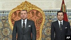 Le roi du Maroc Mohamed VI le 9 mars 2011, à Rabat, Maroc.