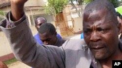 Hermínio dos Santos, líder dos ex-combatentes desmobilizados em Moçambique