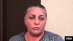 Səkinə Qurbanova, gənc fəal Zaur Qurbanlının anası