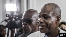 Le candidat à la présidentielle Martin Fayulu à Kinshasa, le 30 décembre 2018.