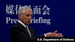 美国国防部长哈格尔 (国防部照片)