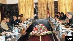 Các giới chức hàng đầu của Pakistan và Afghanistan họp tại Kabul, ngày 16 tháng 4, 2011