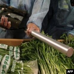 Provera povrća uvezenog iz Japana