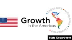 """""""美洲增長""""倡議標識"""