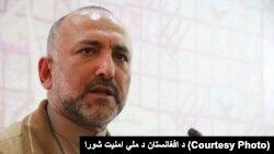 د افغانستان د ملي امنیت سلاکار، محمد حنیتف اتمر
