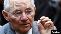 Menteri Keuangan Wolfgang Schaeuble (foto: dok).