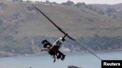Trực thăng Cobra của quân đội Thổ Nhĩ Kỳ trong một cuộc diễn tập ở Izmir.