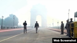 Authorities patrol the roads. In January, Delhi's government took the first emergency measure to curb pollution, allowing private cars with plates ending in odd and even numbers out on the roads on alternate days for two weeks to reduce the number of vehicles on the road at a time.