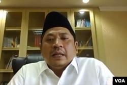 Dirjen Pendidikan Islam Kementerian Agama Muhammad Ali Ramdhani. (Foto:VOA)