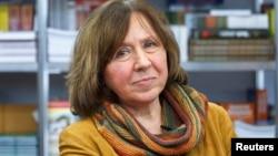 Belarussian writer Svetlana Alexievich