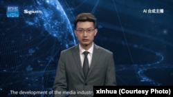 این مجری خبر با هوش مصنوعی ساخته شده و شبیه یک انسان واقعی است.