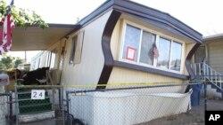 加州里奇克莱斯特和邻近发生6.4级地震