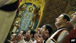 La messe en la cathédrale Saint Marc du caire (Archives)