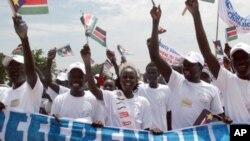 پـێـکدادان له نێوان لهیهنگرانی سهربهخۆی باشوری سودان و هێزهکانی پـۆلیس له خهرتوم ڕوودهدات