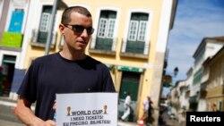 La policía de Brasil investiga una red de venta ilegal de boletos durante el Mundial.
