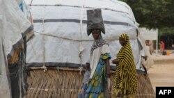 Imagem de arquivo: Residentes de Maiduguri
