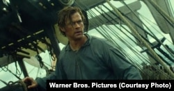 """Chris Hemsworth stars in the gripping new trailer for Ron Howard's historical thriller """"In the Heart of the Sea."""""""
