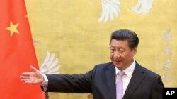 """Chủ tịch Tập Cận Bình. Truyền thông nhà nước TQ nói những thúc đẩy cải cách của ông Tập sẽ làm cho """"huyết mạch của nền kinh tế khổng lồ"""" trở nên lành mạnh hơn."""