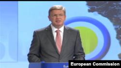 Komesar za proširenje Štefan File predstavlja izveštaj Evropske komisije