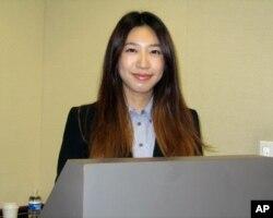研究中国工会的学者方琮嬿