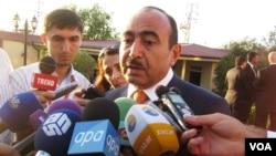 Azərbaycan Prezident Administrasiyasının ictimai-siyasi şöbəsinin müdiri Əli Həsənov